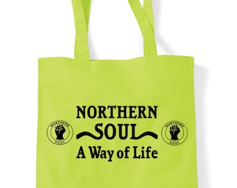 93960a05f2c7 Northern Soul A Way Of Life Tote Shopping Bag