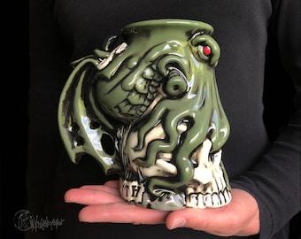 Custom Cthulhu mug, Personalized Cthulhu mug, Unique Personalized Gift, Custom Name Mug