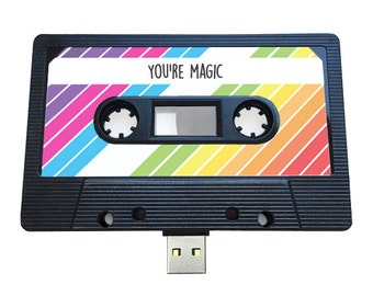 4gb 8gb 16gb usb mixtape retro quirky personalized gift etsy