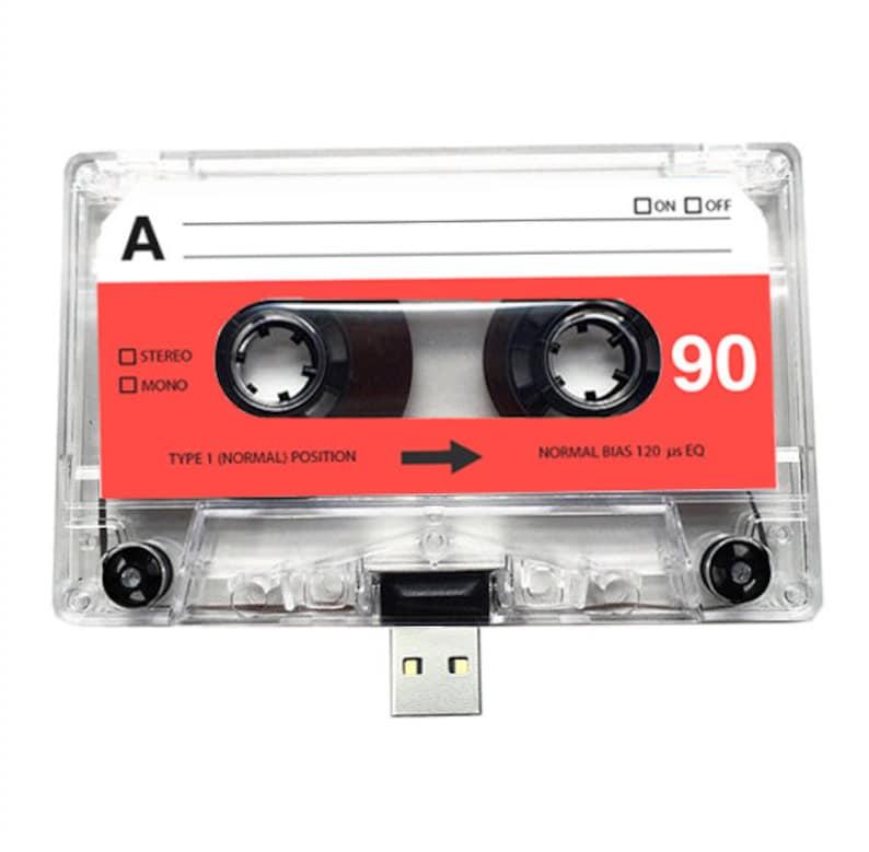 4GB/8GB/16GB USB Mixtape  Retro Personalised Gift  Partner image 0