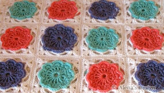 Free Crochet Pattern 160 Crochet Blanket Pattern In Two Sizes Etsy
