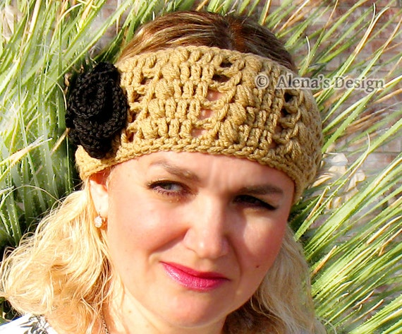 Crochet Pattern 149 Crochet Martha Headband Pattern Ear Warmer Etsy