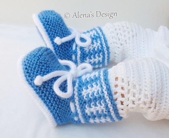Baby Booties Knitting Pattern 033 Knitting Booties Pattern Etsy