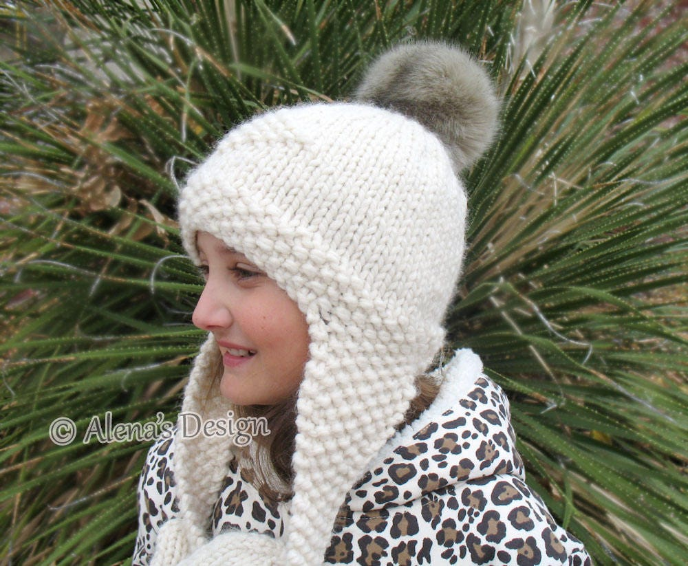 dbdccc105ba Free Knitting Patterns For Mens Hat With Ear Flaps