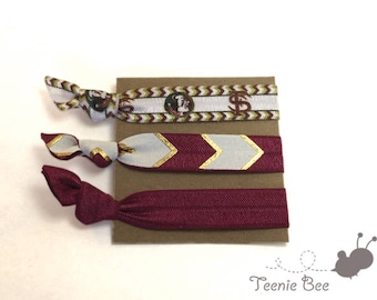 Florida State Seminoles - Seminoles Football - FSU football - Florida State  Seminoles accessories - Seminoles hair ties - NCAA football 473239793441