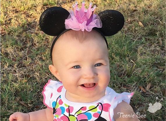 Disney Princess Ears Baby Minnie Ears Baby Mickey Ears  85111623999