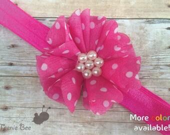 Pink Baby Headband - Baby Headband - Baby Girl Headband - Newborn Headband