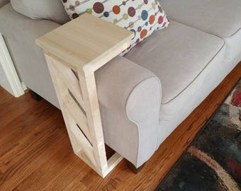 Over The Arm Accent Table