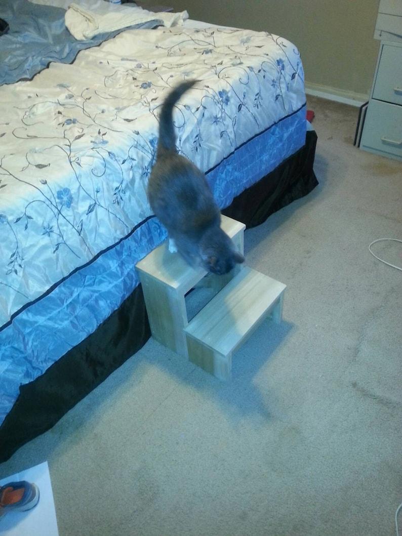 Bedside Footstool: Pet Bedside Step Stool Stairs