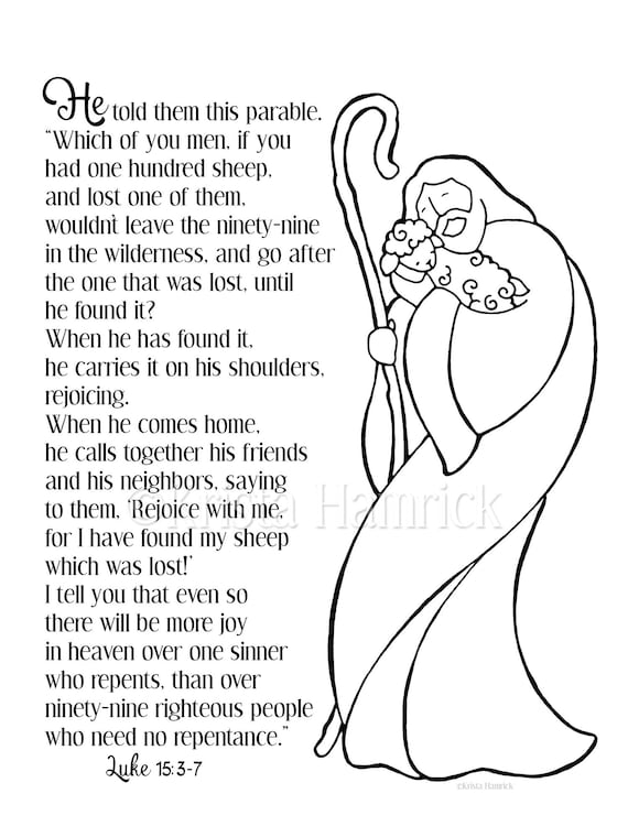 Parables of Jesus Coloring Pages | Bible-Printables | 760x570