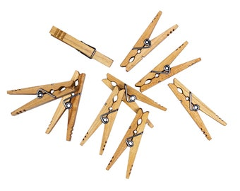 Clothespins, Heavy duty clothespins, Kevin's Quality Clothespins, American Made, and strong clothespins, Perfect for Crafting and laundry
