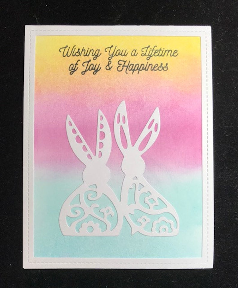 Wishing You A Lifetime Of Joy /& Happiness Greeting Card