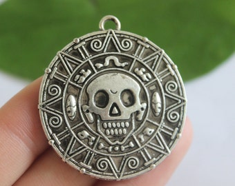 Silver Coin Pirate Etsy