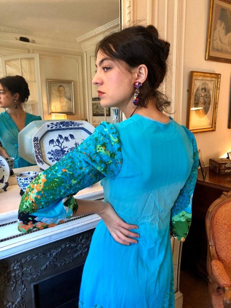 1970s Claude Monet Femmes au jardin painting print ...