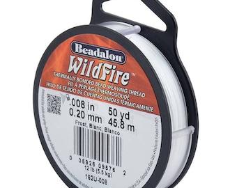 0.006-Inch Frost Beadalon 20-Yard Wildfire Beading Thread