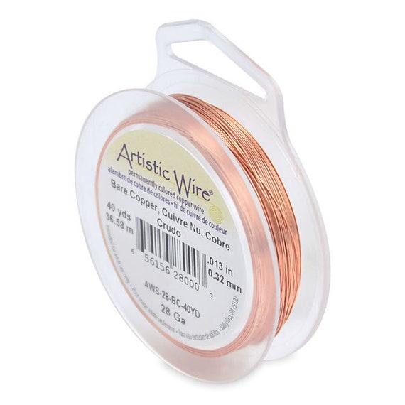 40 yd .32 mm 36.5 m Black 28 Gauge Artistic Wire