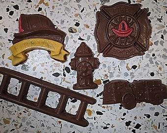 Fireman Hat  Chocolate Candy  Mold  Fire Fundraiser Firefighter