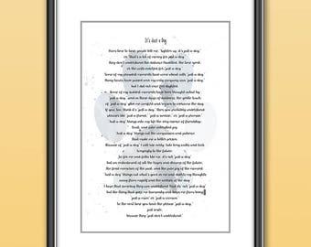 Pet Verlies Gedicht Gedicht Van Mijn Hond Huisdier Etsy