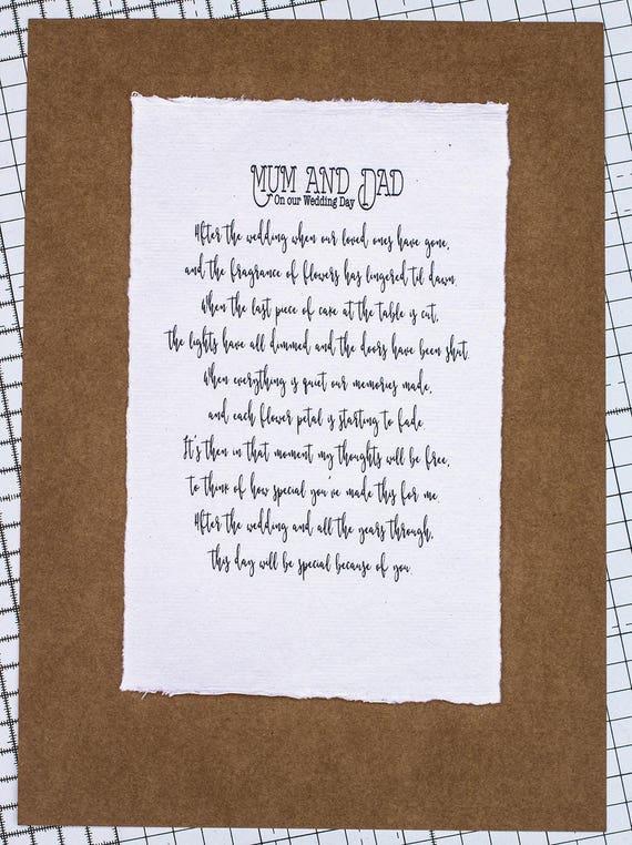 Hochzeit Gedicht Für Mama Und Papa Mama Und Papa Gedicht Eltern Geschenk Hochzeitsgeschenk Hochzeitskarte Hochzeitsgeschenk Hochzeit Memento