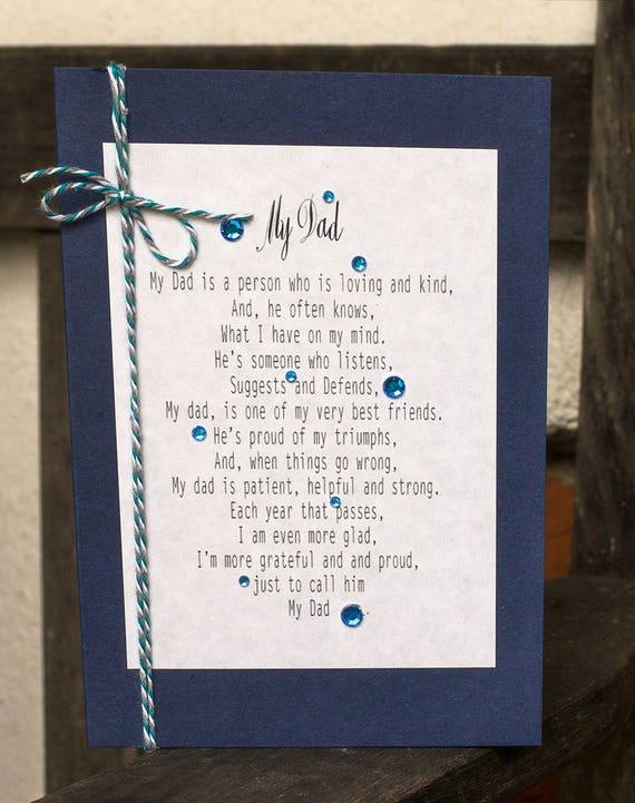 Dzień Ojca Lub Kartka Urodzinowa Wiersz Dla Taty Wiersz Urodziny Taty Tata Poemat Karty Mój Tata Prezent Dla Mojego Taty Tata Obecny Miłość
