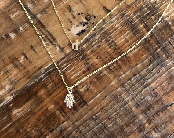 hamsa handpendant necklace