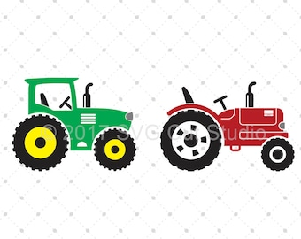 Farm Tractor svg Farm life svg Transport svg Farmer svg files for cricut silhouette old tractor svg john deer svg vintage tractor svg