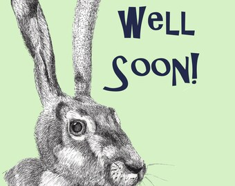 Hare - Get Well Soon