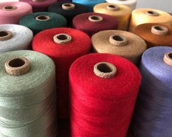 Bamboo 16/2 Weaving Yarn - Brassard - 1/2 lb Cones