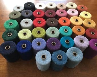 Organic Cottolin  8/2 weaving yarn - 60pct organic cotton 40pct linen  - Maurice Brassard