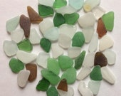 Genuine Sea Glass, Beach Glass, Bulk Sea Glass, Tumbled Glass