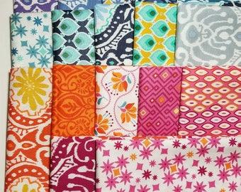 Kate Spain CUZCO -- 17 Fat Quarter Bundle moda cotton quilting fabric oop VHTF