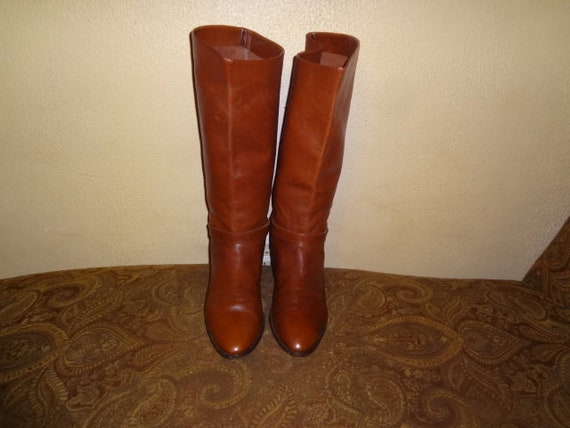 bfcdb36ebf1c FINAL CLEARANCE Brown Etienne Aigner Shelby Knee Boots 9.5M