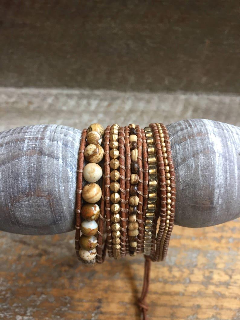 Darcy Beaded Wrap Bracelet