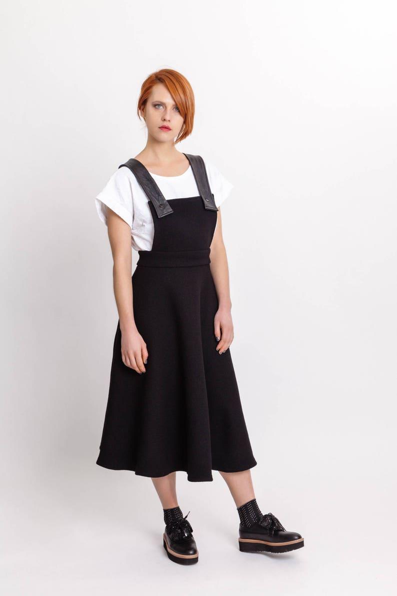 55888a7ef Ladies Black Pinafore Dress Uk | Saddha