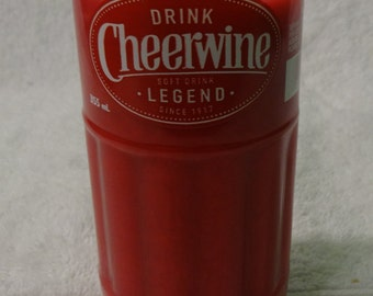 Cheerwine Cherry Soda Bottle Cherry Scented Candle - Amazing Cherry Smell!