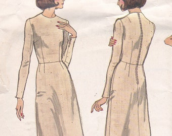 Vogue 1004 Basic Fitting Shell and Dress: Instructions to Assure Perfect Fit Partially Cut Complete Sewing Pattern Size 14