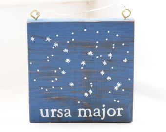 Ursa Major Constellation Wall Plaque