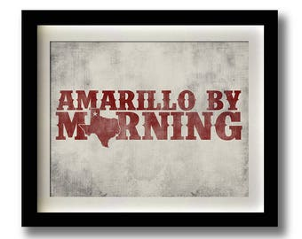 Amarillo morning | Etsy
