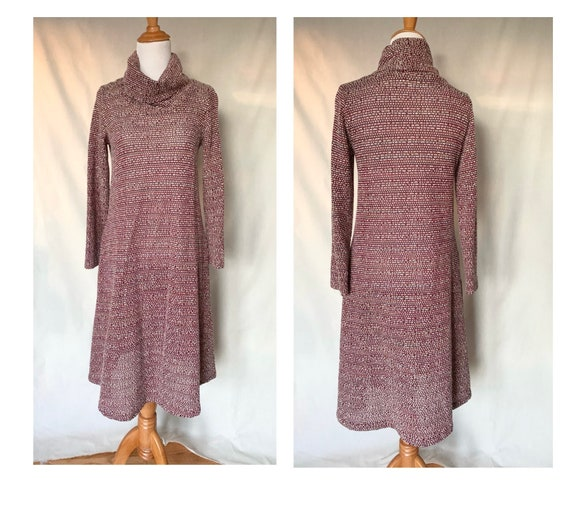 Slouchy 70s Sweater Dress by Lester Hayatt