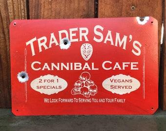 Disneyland Inspired Trader Sam Sign