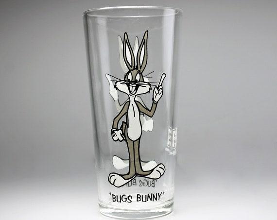 1973 Collectible Tumbler, Bugs Bunny, Pepsi Collector Series, 16 Ounce, Drinking Glass
