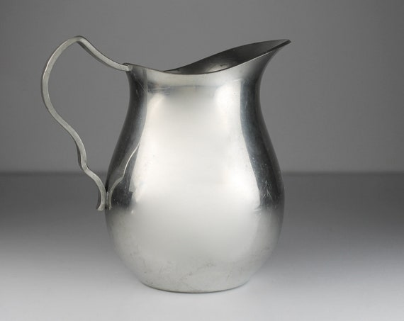 Stieff Pewter Creamer, American Pewter Guild, Pitcher, Jug, Colonial Decor