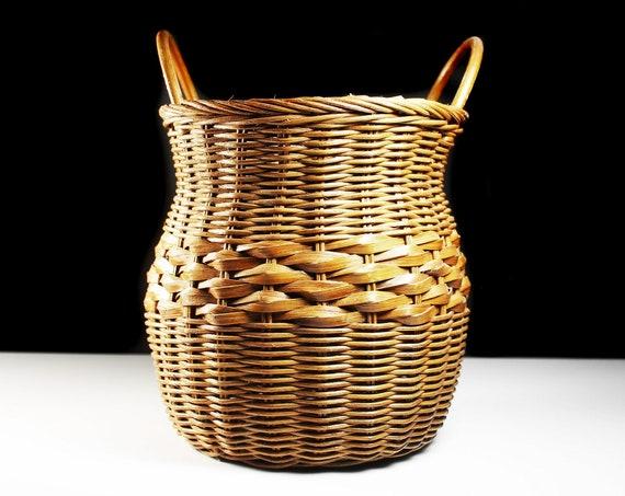 Wicker Basket, Decorative, Basket Vase, Storage