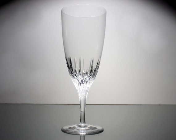 Waterford Crystal Iced Tea, Claria, Marquis Collection, Barware, Stemware, Signed, Non-Leaded