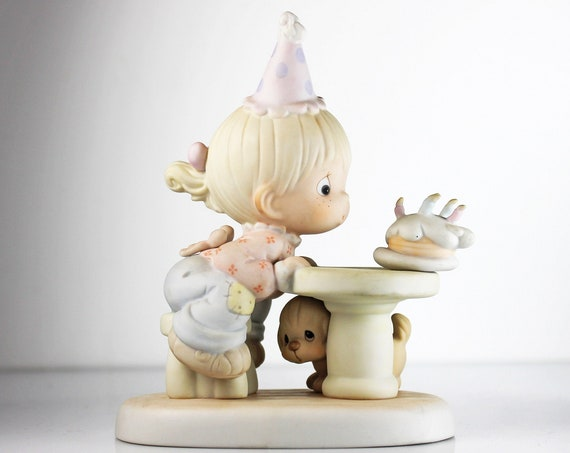 Precious Moments Figurine, May Your Every Wish Come True, Enesco, Birthday, 6 Inch, Collectible
