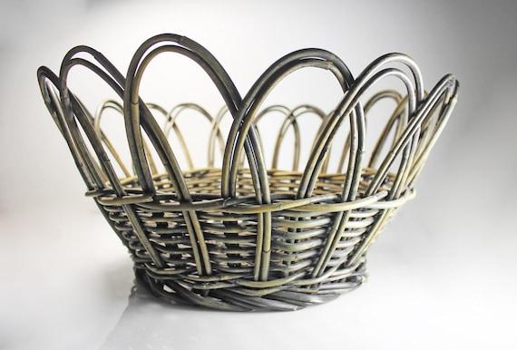 Decorative Grapevine Basket, Twig Basket, Fruit Basket, Storage Basket, Home Decor, Farmhouse Decor