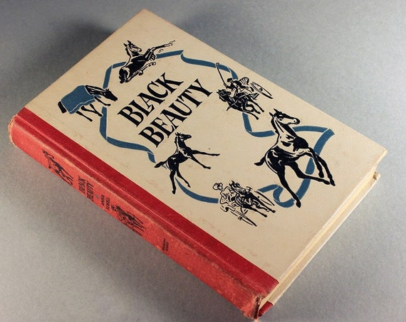 Children's Hardcover Book, Black Beauty, Anna Sewell, Children's Classic, Fiction, Illustrated