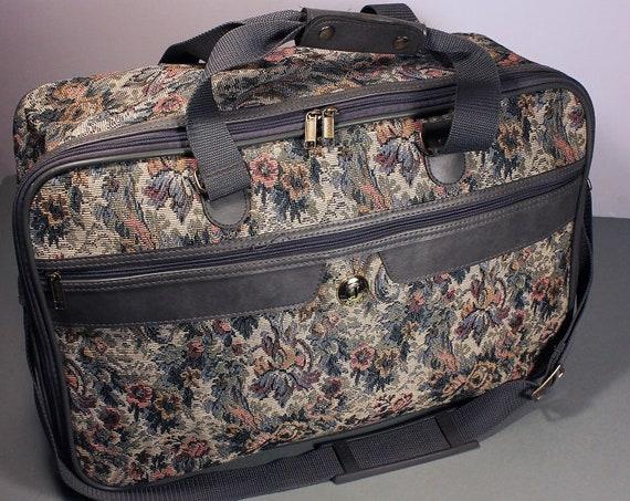 Jaguar Luggage, Tapestry Bag, Carry-on Bag, Overnight Bag, Travel Bag, Weekender, Soft Cover Bag, Luggage, Shoulder Strap