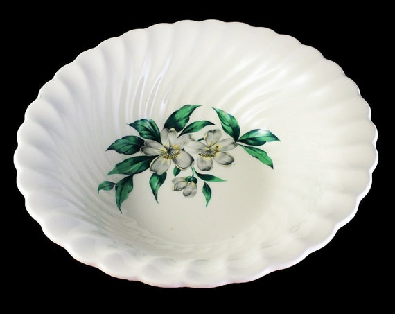 Vegetable Bowl, Royal China, Dogwood, Hard to Find Pattern, Floral Pattern, Discontinued
