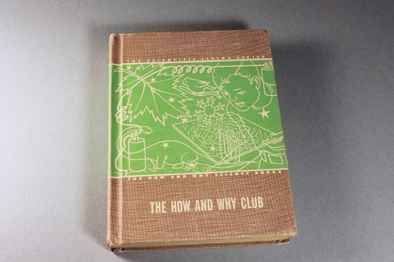 Children's Hardcover Book, The How and Why Club, Educational Book, Science Stories, Learning Tool, Science Book, Illustrated